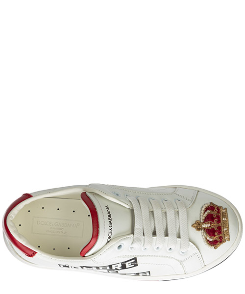 Boys shoes child sneakers leather dg king secondary image