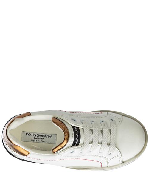 Boys shoes child sneakers leather portofino secondary image