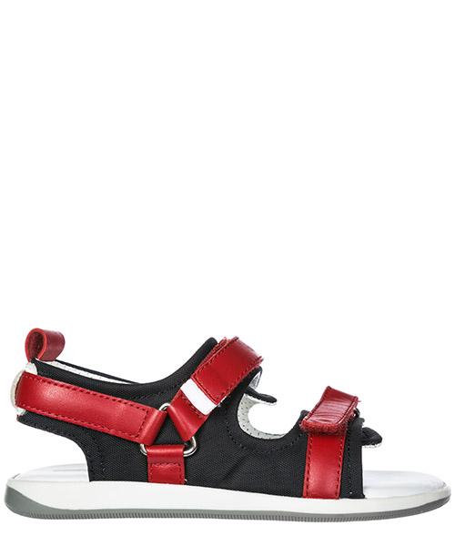 Sandalias Dolce&Gabbana DD0217AR2358T954 nero / rosso / bianco