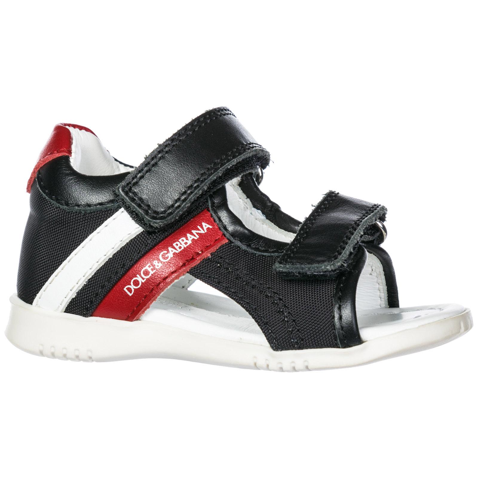 Sandali Dolce Gabbana DN0039AL6808T954 nero   rosso   bianco ... 59d0d5a07a8