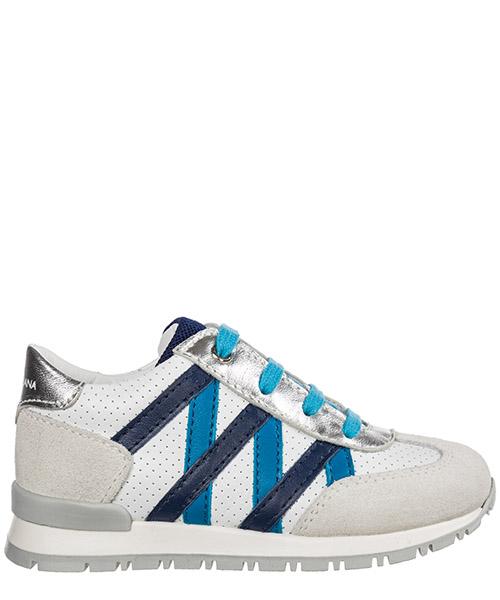 Sneaker Dolce&Gabbana dn0078ae9368b934 bianco / turchese