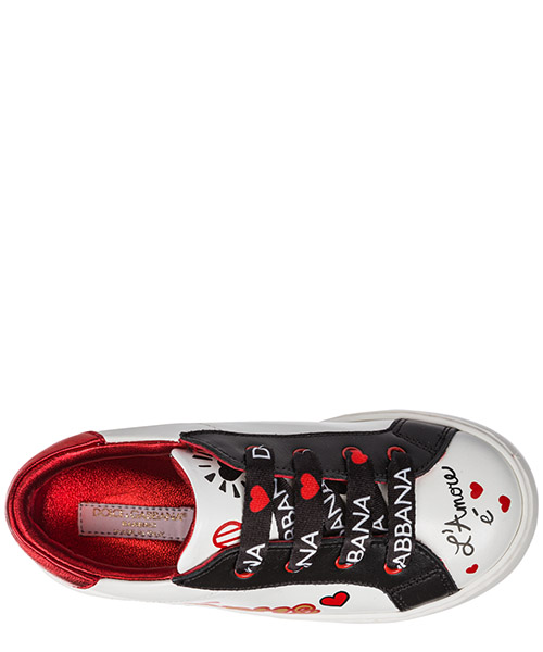Girls shoes baby child sneakers pelle secondary image