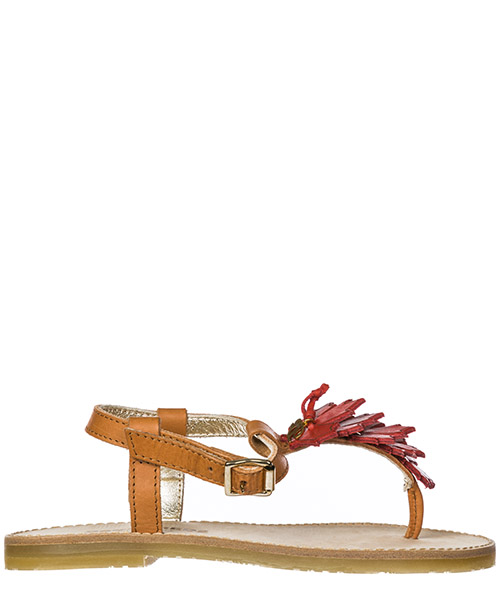 Thong sandals Dsquared2 36334 beige