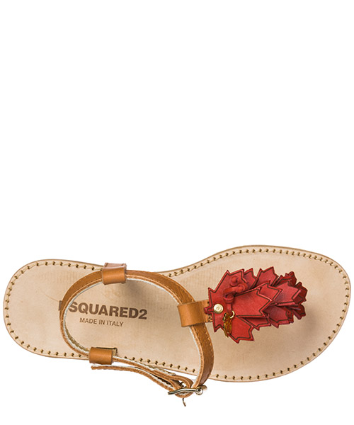 Girls sandals child leather secondary image