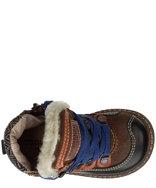 Boys shoes child boots suede leather secondary image
