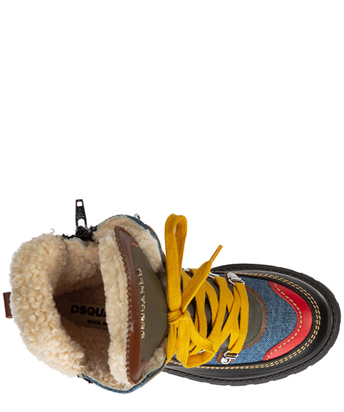 Boys shoes child boots leather secondary image
