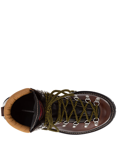 Men's leather combat boots cervino secondary image