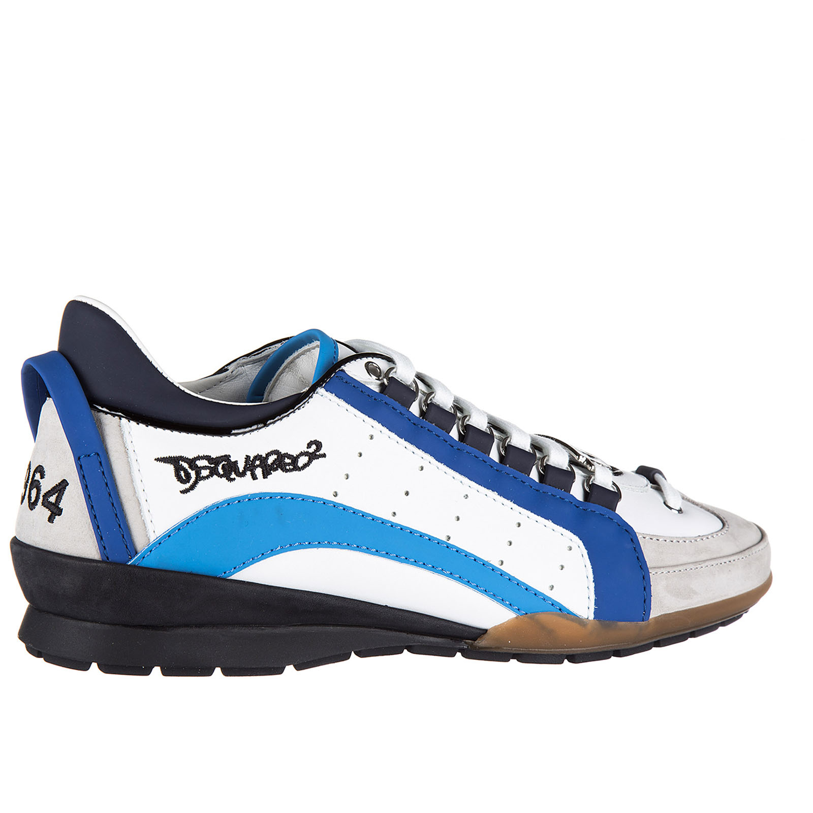 Zapatos zapatillas de deporte hombres en piel 551 vitello sport