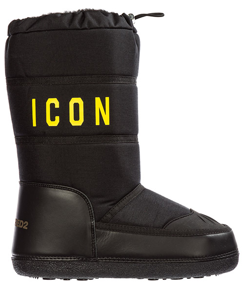 Snow boots Dsquared2 icon sbm000211700001m069 nero