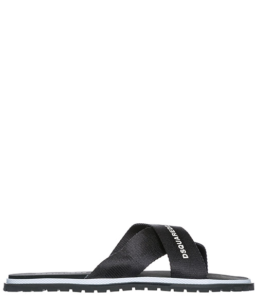 Mule Dsquared2 - SLM0001 20200001 2124 nero