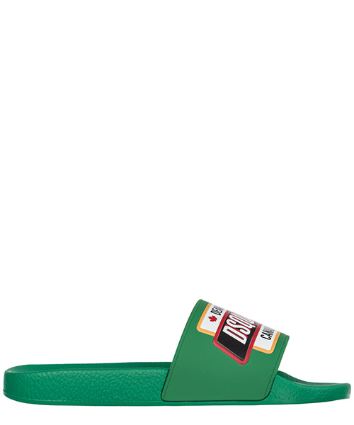 Slides Dsquared2 Slide SLM0005172000018078 verde brillante