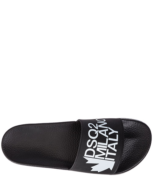 Men's slippers sandals rubber  dune secondary image