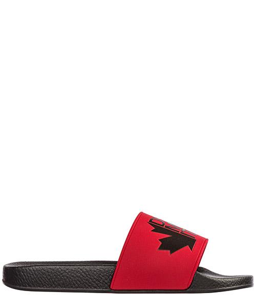 Pantoletten Dsquared2 slm001117200001m090 rosso nero