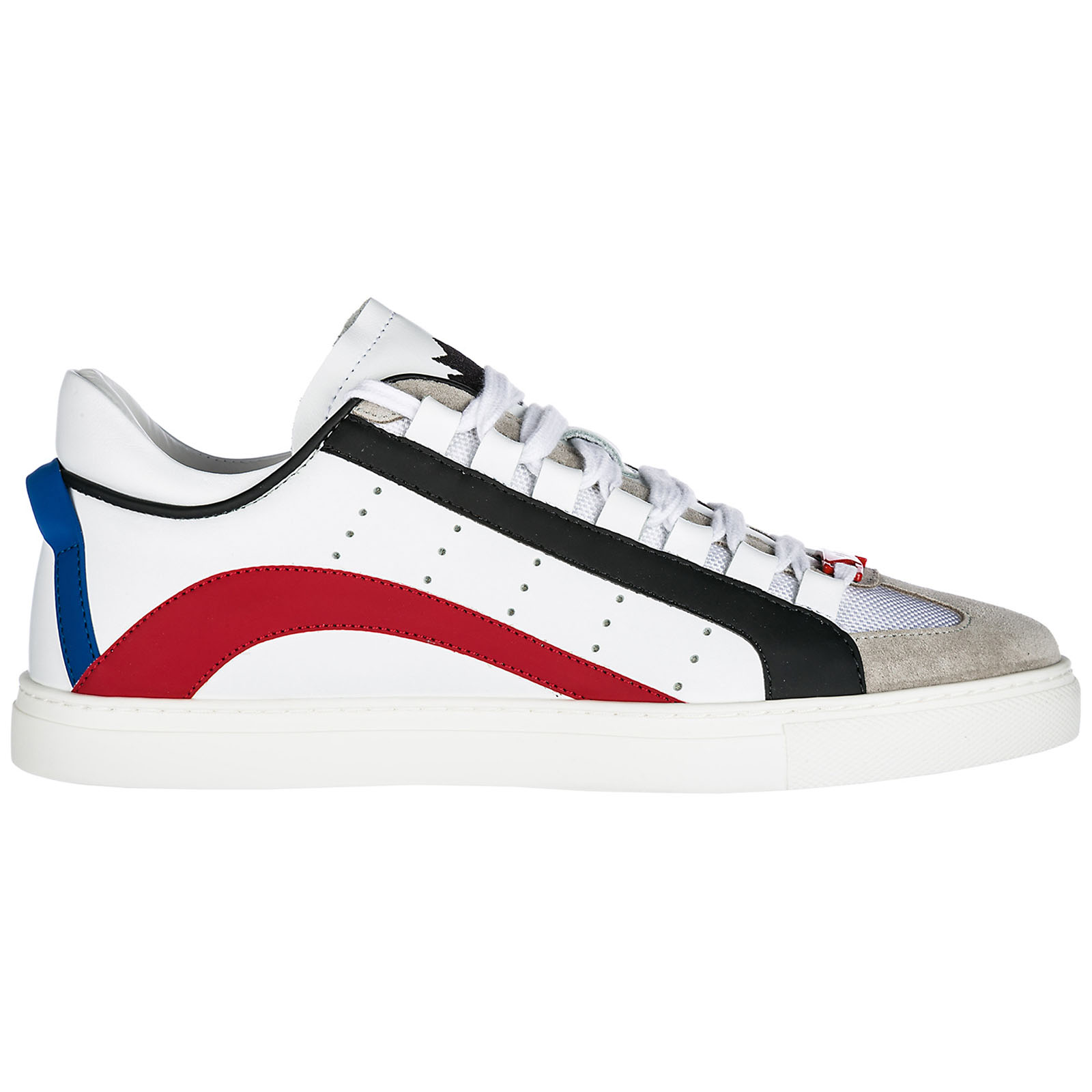 Sneakers Dsquared2 551 SNM000611570001M244 bianco - rosso  a21d854976a7