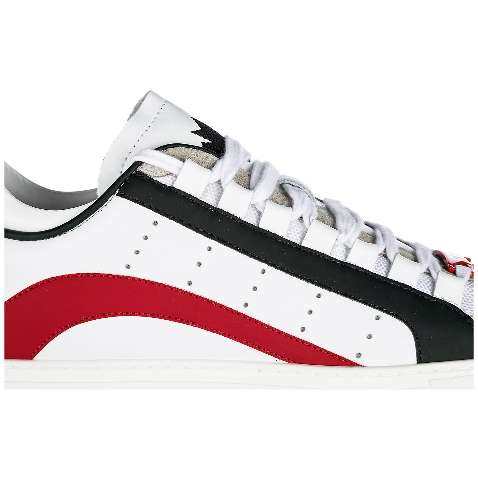 DSQUARED2 Sneakers Uomo Snm000611570001m244 Pelle Bianco dXpltusCLg