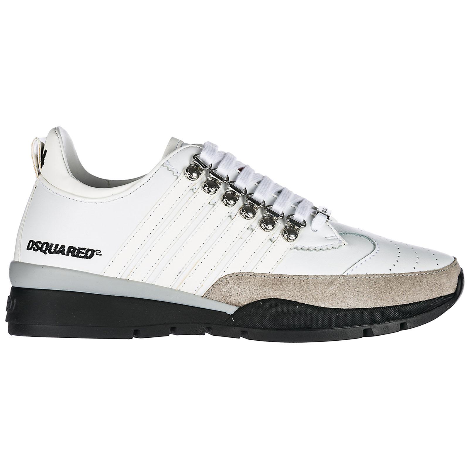 3d1e043b2d1cf Sneakers Dsquared2 251 SNM010111570001M1048 bianco   FRMODA.com