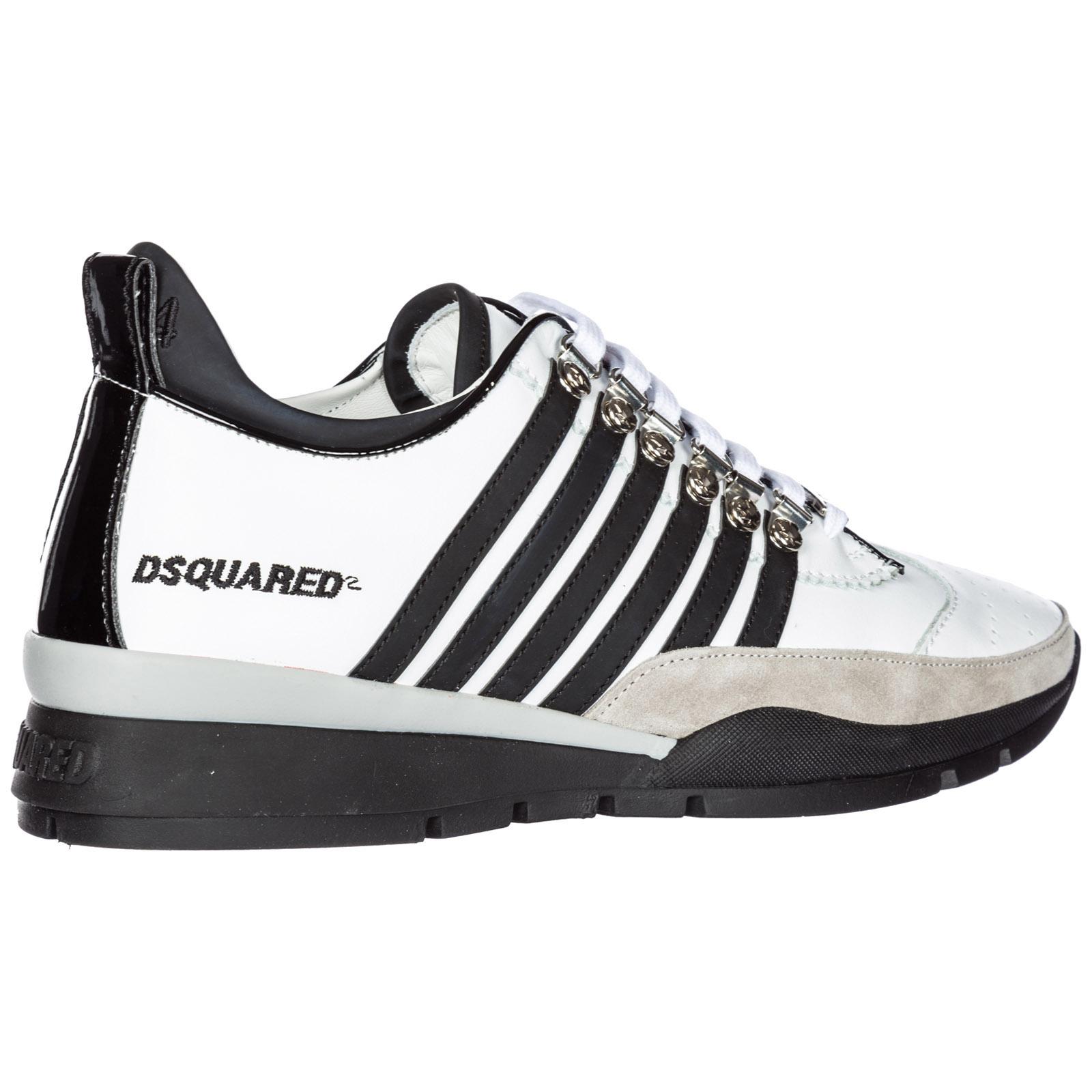 988de2b8ea81f Zapatillas deportivas Dsquared2 251 SNM010111570001M1537 bianco + ...