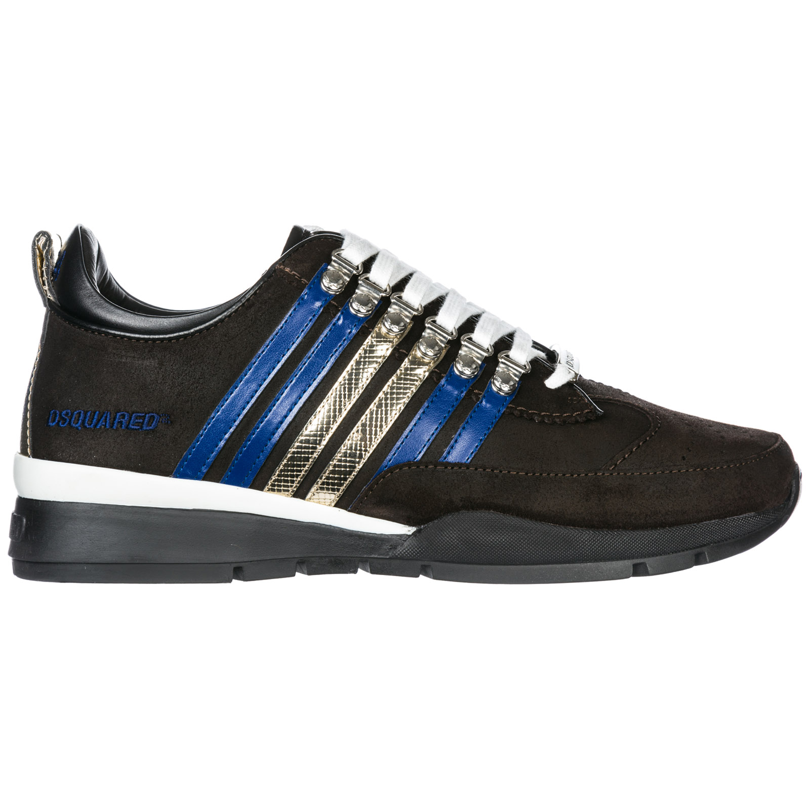 Sneakers Dsquared2 251 SNM010129601211M1276 testa di moro - blu ... 83c821cd304