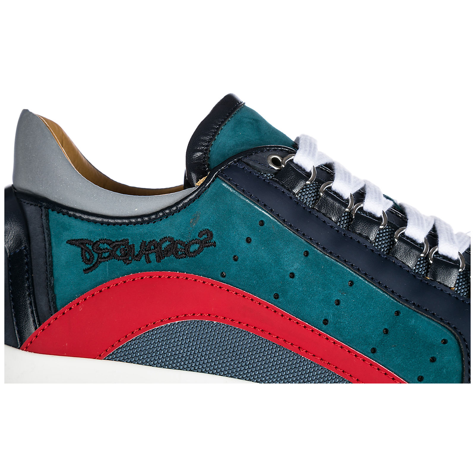 Sneakers Dsquared2 551 SNM040471800001M227 blu - rosso  d6932992e30d