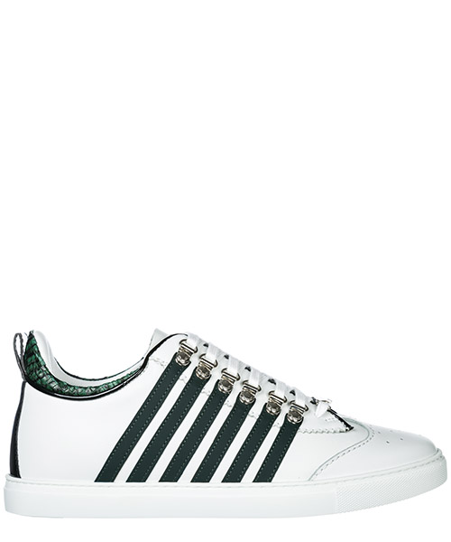 Sneakers Dsquared2 251 SNM000801501208M243 bianco + verde