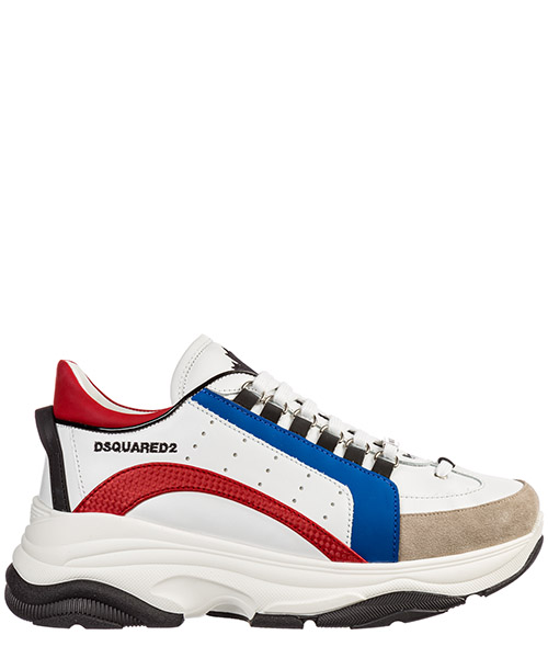 Sneakers Dsquared2 bumpy 551 snm004701502074m617 blu bianco rosso