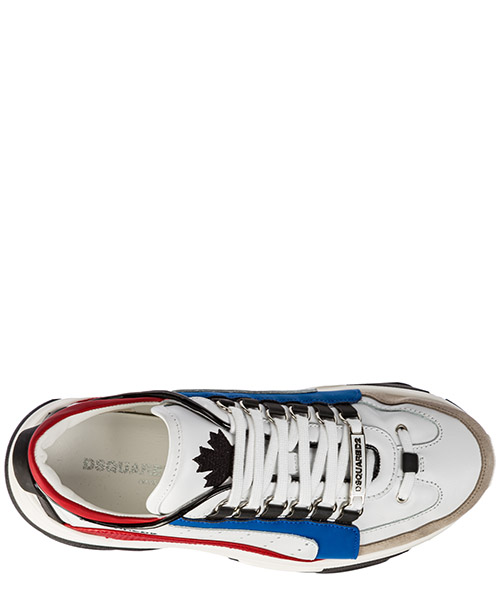 Chaussures baskets sneakers homme en cuir bumpy secondary image