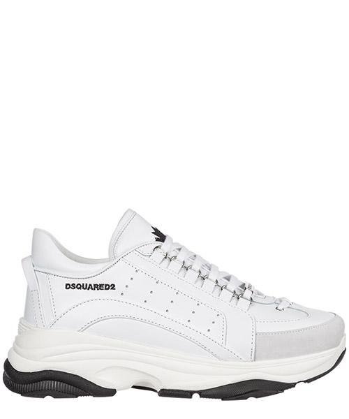 Basket Dsquared2 SNM004706500001M1216 bianco + bianco + nero