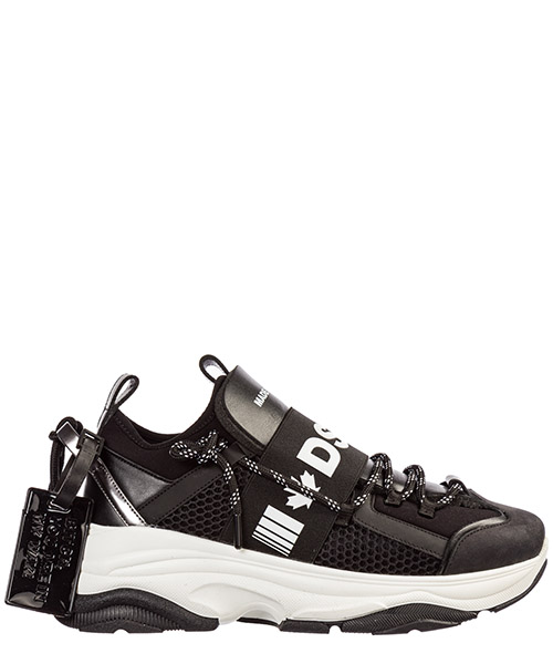 Sneakers Dsquared2 d-bumpy one snm004816801987m063 nero+bianco