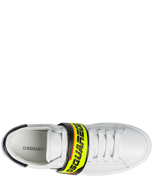 Men's shoes leather trainers sneakers tennis secondary image