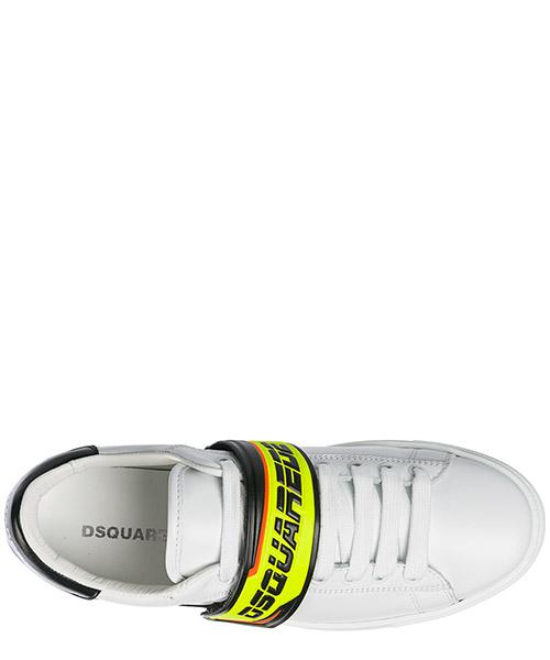 Chaussures baskets sneakers homme en cuir tennis secondary image