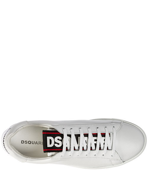 Chaussures baskets sneakers homme en cuir evolution tape secondary image
