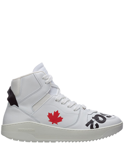 High-top sneakers Dsquared2 bad scout SNM0092081025751062 bianco