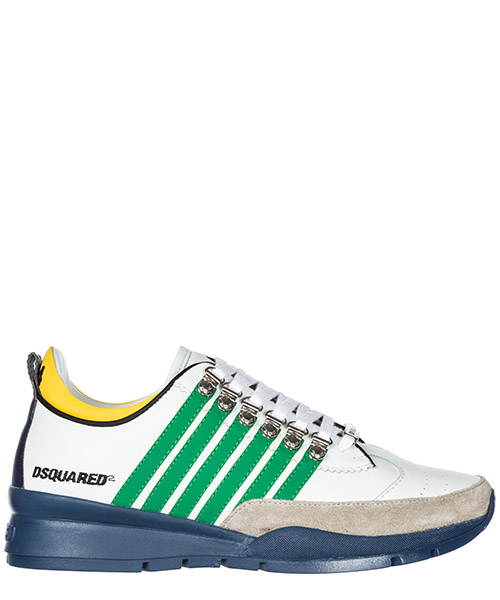 Sneakers Dsquared2 251 SNM010101501210M836 blu - bianco - verde