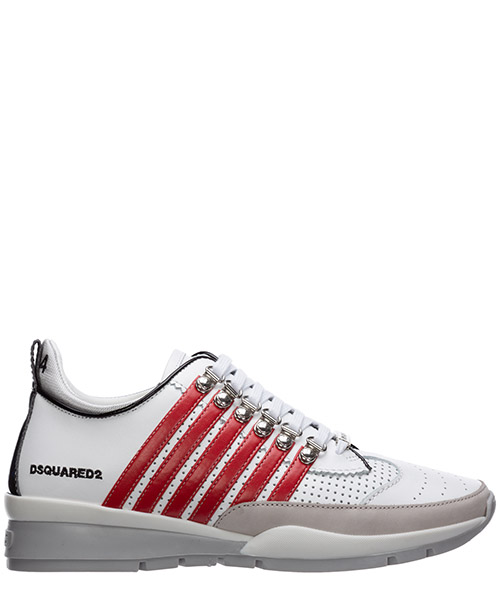 Sneakers Dsquared2 251 SNM010101502721M1747 bianco + rosso