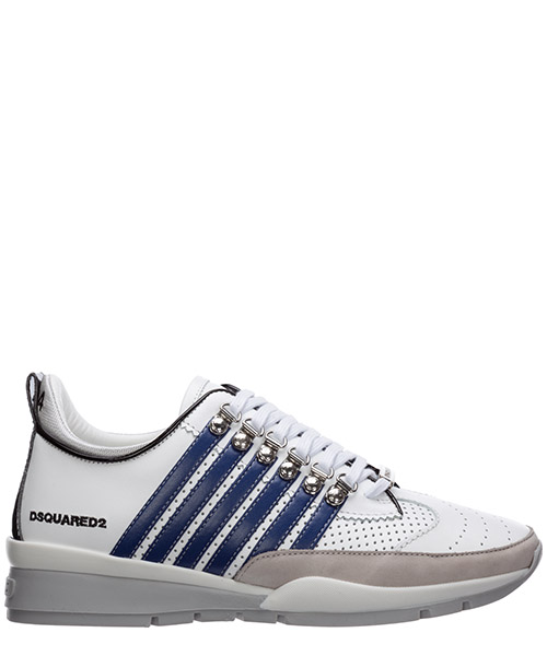 Sneakers Dsquared2 251 SNM010101502721M328 bianco + blu