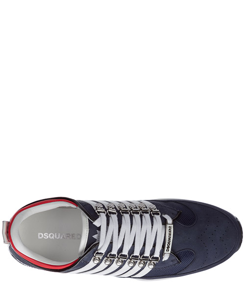Men's shoes leather trainers sneakers 251 secondary image