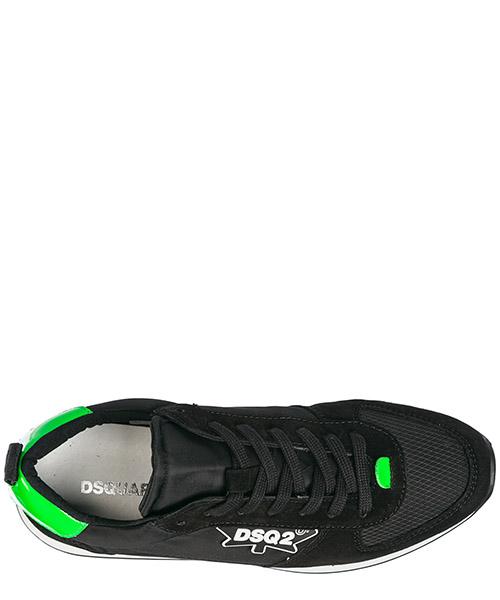 Chaussures baskets sneakers homme en daim runner secondary image