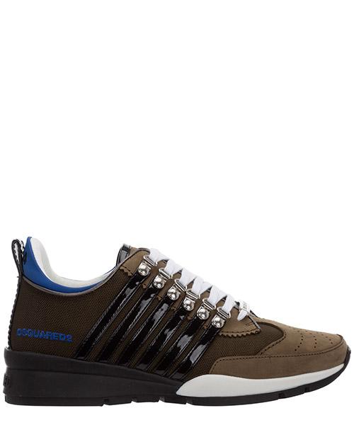 Sneakers Dsquared2 251 SNM014611702261M2021 verde militare