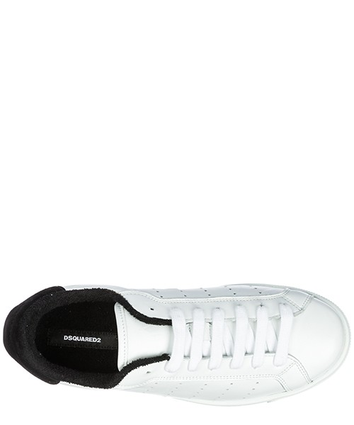 Men's shoes leather trainers sneakers santa monica secondary image