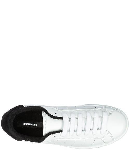 Zapatos zapatillas de deporte hombres en piel santa monica secondary image