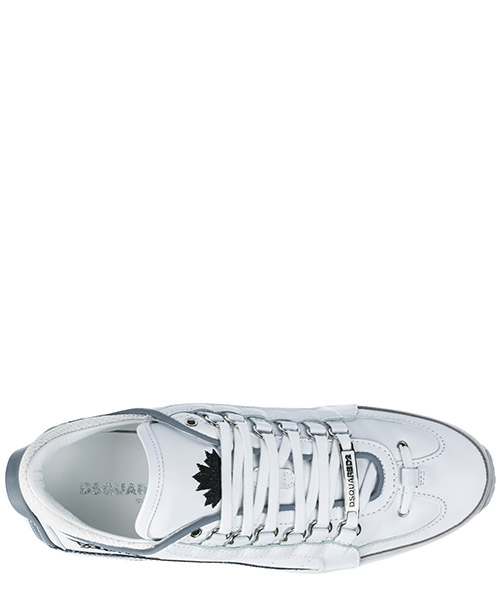 Chaussures baskets sneakers homme en cuir 551 secondary image
