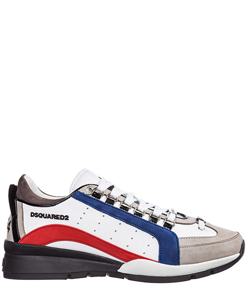 Sneakers Dsquared2 551 SNM040401501654M139 bianco rosso blu