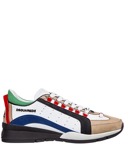 Sneakers Dsquared2 551 SNM040401501654M1477 bianco + blu + nero