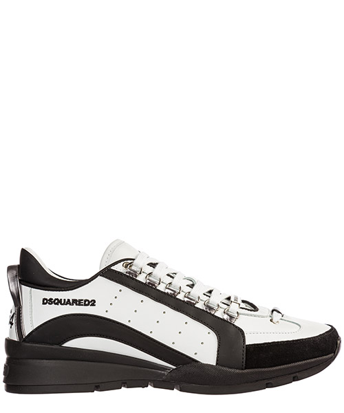 Sneakers Dsquared2 snm0404065b0001m072 bianco nero