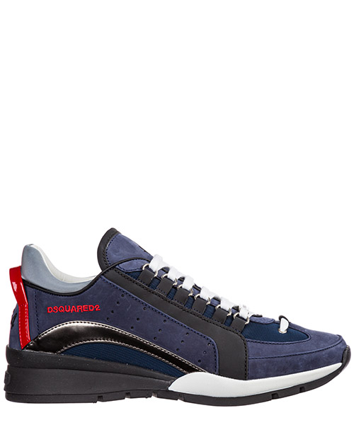 Basket Dsquared2 551 SNM040409702072M1683 antracite + blu