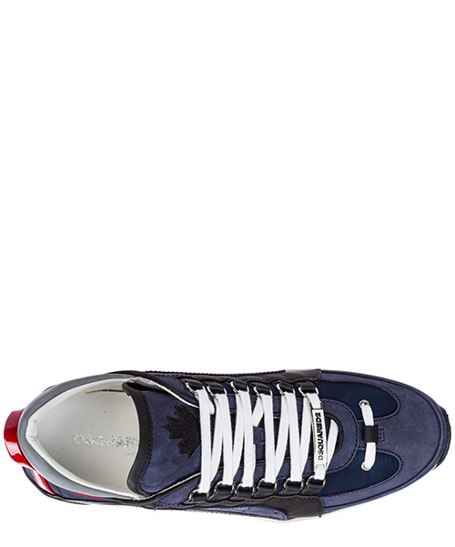 Men's shoes leather trainers sneakers 551 secondary image