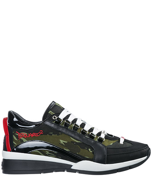 Кроссовки Dsquared2 551 SNM0404168S0074M037 military punk