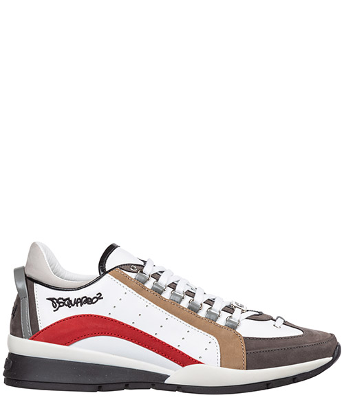 Sneakers Dsquared2 W16SN404 578 M615 beige rosso