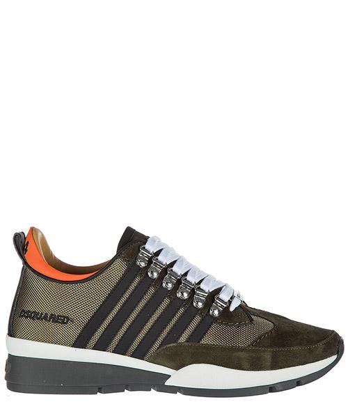 Sneakers Dsquared2 251 W17SN1011295M1115 verde militare nero