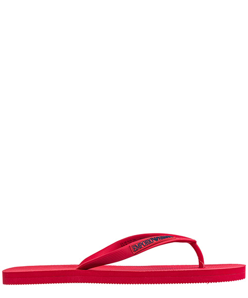 Flip flops Emporio Armani X4QS02XL82700029 red